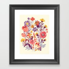The Garden Crew Framed Art Print
