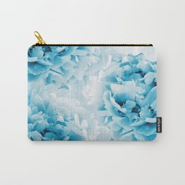 Blue Peonies Dream #1 #floral #decor #art #society6 Carry-All Pouch