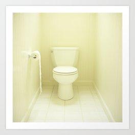 """""""Toilet"""" Art Print"""