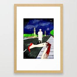 It Follows Movie Poster Framed Art Print