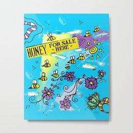Honey for Sale! Metal Print
