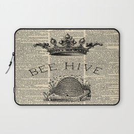 western country garden farmhouse beekeeper honey bumble bee hive Laptop Sleeve