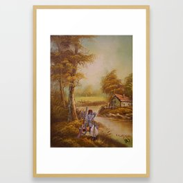 The Future of Hunting Framed Art Print