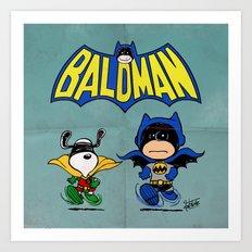 Baldman Art Print