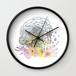 A T O M I C   P A I S L E Y Wall Clock