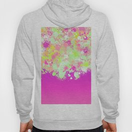 paint splatter on gradient pattern pgoi Hoody