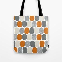 Wonky Ovals in Orange Tote Bag