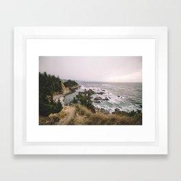 Oh, Oregon Framed Art Print