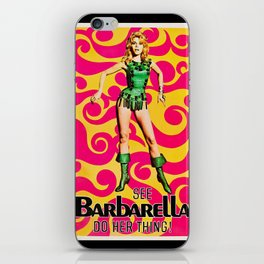 See Barbarella! iPhone Skin