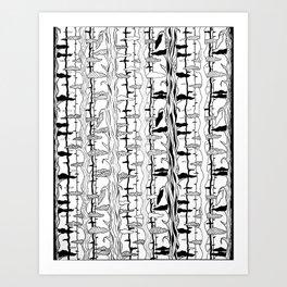 Tree Motif Art Print