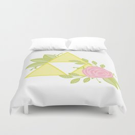 Garden of Power, Wisdom and Courage Duvet Cover