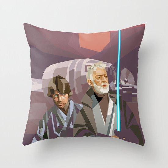 Farthest From Throw Pillow