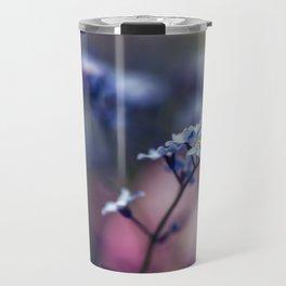 Forget-Me-Not Myosotis Flower Travel Mug