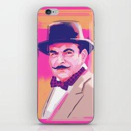 Hercule Poirot iPhone Skin