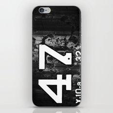 47 Horizontal iPhone & iPod Skin