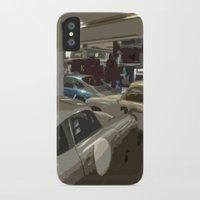 porsche iPhone & iPod Cases featuring Porsche Garage by Premium