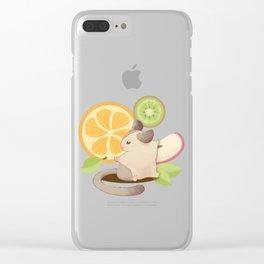 summer fresh fruit Clear iPhone Case