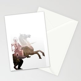 Defend the Castle Stationery Cards
