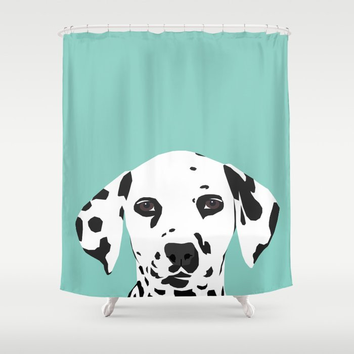 Dalmatian Cute Puppy Dog Black And White Mint Pastel Gender Neutral Pet Owner Gifts Love Animals