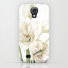 VI. Vintage Flowers Botanical Print by Pierre-Joseph Redouté - Crinum Jagus Slim Case Galaxy S4