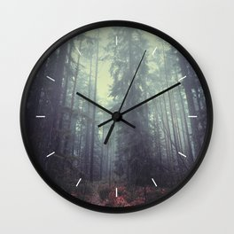 The magic trails Wall Clock