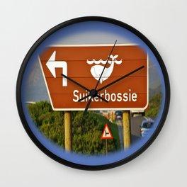 Suikerbossie Wall Clock
