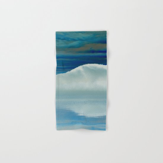 Ice in the Morning on Lake George Hand & Bath Towel