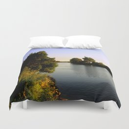 Beginning of a new Day! Duvet Cover