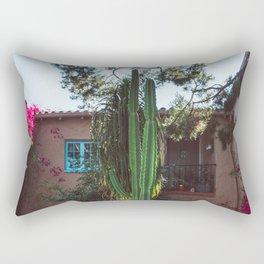 Hollywood Cactus and Flowers Rectangular Pillow
