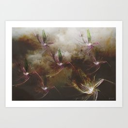 Dragon Flys Art Print