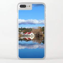 Lake Daylesford Clear iPhone Case