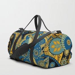 Khokhloma floral pattern Duffle Bag