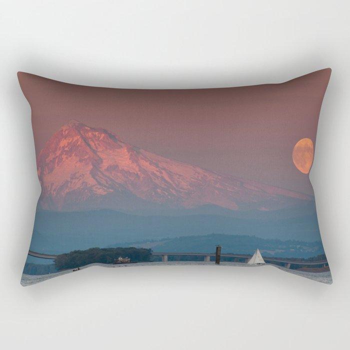 Supermoon  Rectangular Pillow