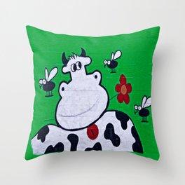 country bumpkin Throw Pillow