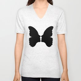 Butterfly Kiss Unisex V-Neck