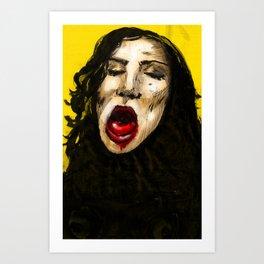GIVER Art Print