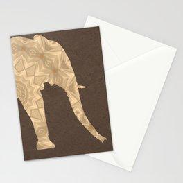 Bohemian Elephant Mandala A395 Stationery Cards