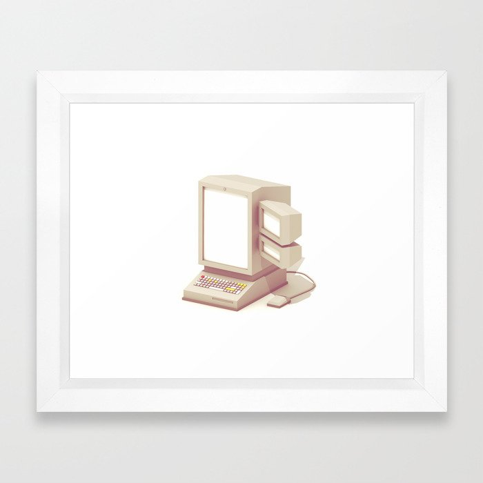 Computer Framed Art Print