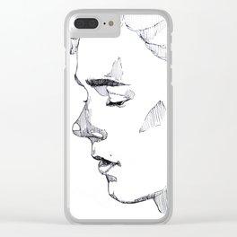   Isak   Clear iPhone Case