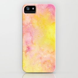 Pink Lemonade Galaxy iPhone Case