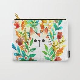 Garden Cat Carry-All Pouch