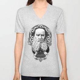 Tolstoy Unisex V-Neck