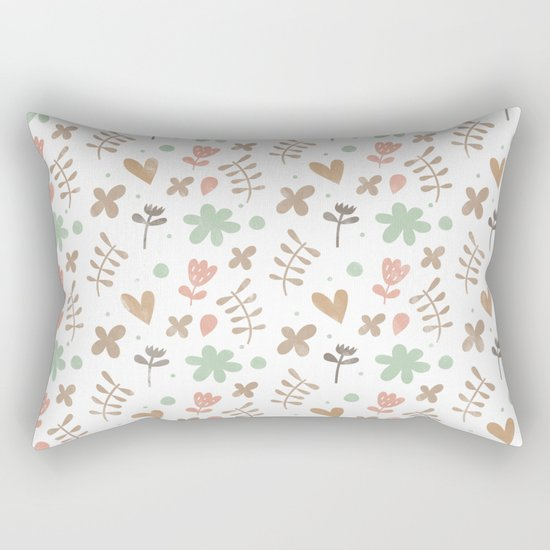 Colorful Lovely Pattern II Rectangular Pillow
