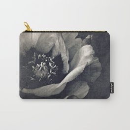canvas peony Carry-All Pouch