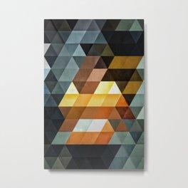 #0013 // gyld^pyrymyd Metal Print