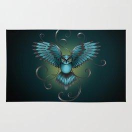 The Great Night Owl Of Kilmartin Rug