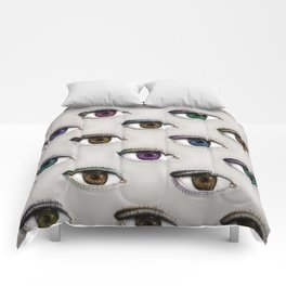 I ONLY HAVE EYES FOR YOU Comforters
