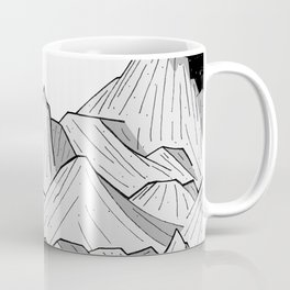 Big moon mounts Coffee Mug