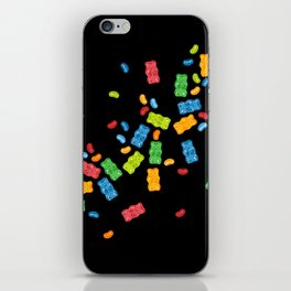 Jelly Beans & Gummy Bears Explosion iPhone Skin