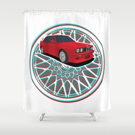 The 3 Shower Curtain